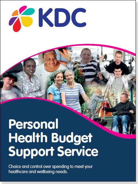 'The voluntary sector plays an important role in the effective delivery of personal  health budgets – from offering advice & advocacy to providing services ...