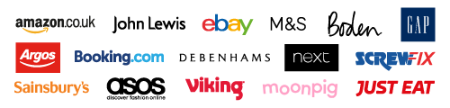 Names of retailers donating through Easyfundraising